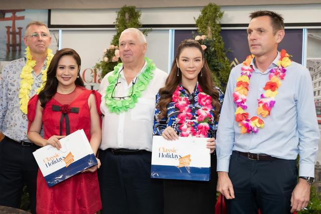 Lý Nhã Kỳ tham dự event ra mắt thương hiệu Crown Royal Corp tại Việt Nam