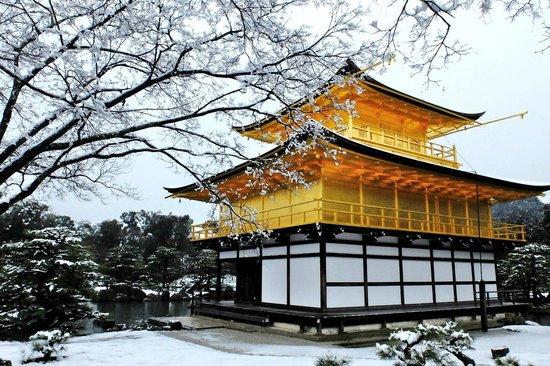 du lich đền vàng Nhật bản